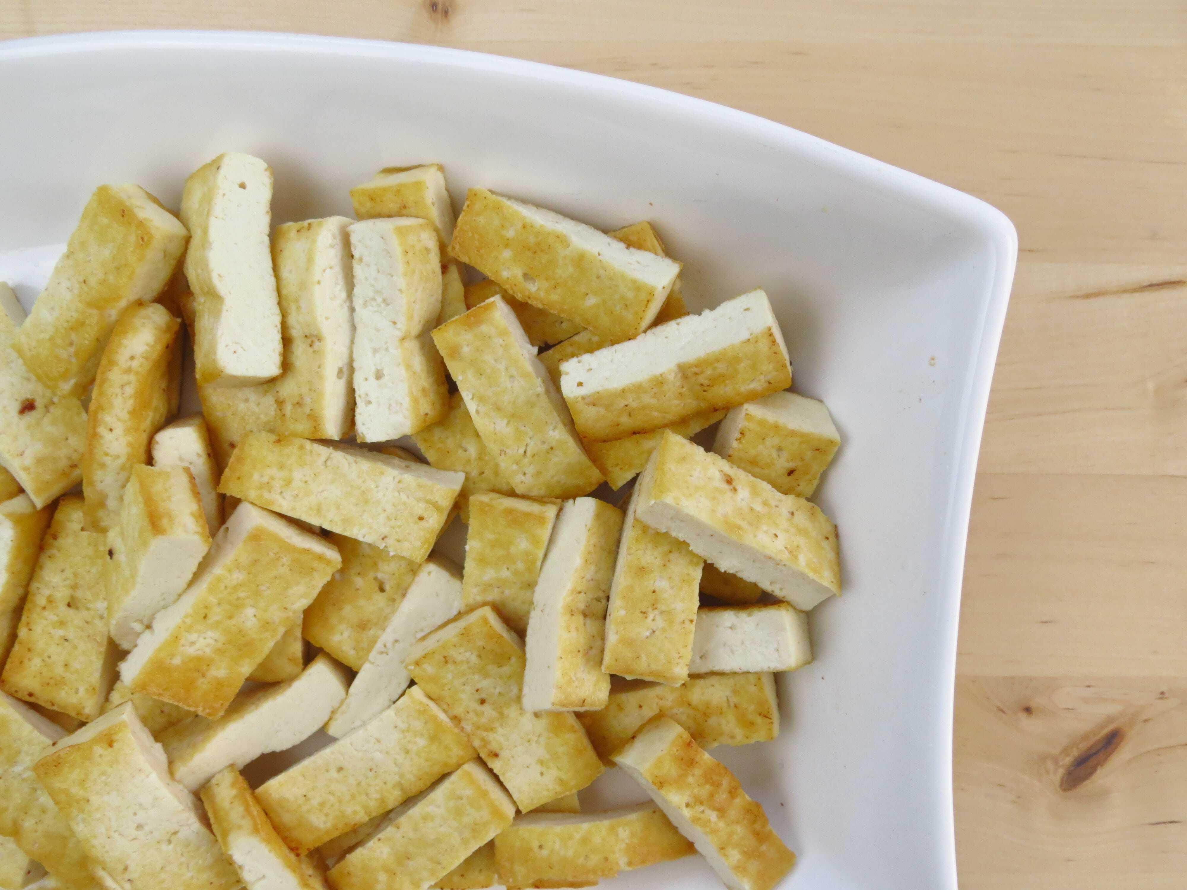Sliced Fried Tofu