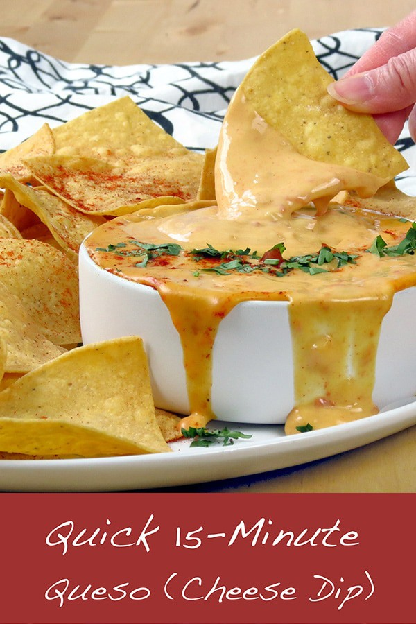 Quick 15-Minute Queso