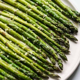 Easy Garlic Parmesan Asparagus