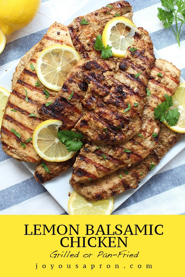 Lemon Balsamic Chicken