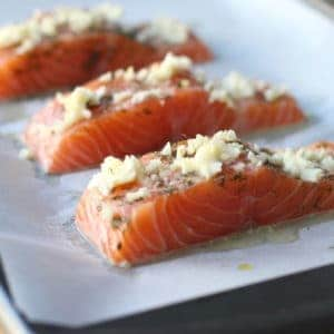 Garlic Butter Dill Salmon