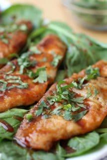Honey Soy Glazed Pan-fried Tilapia