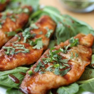 Honey Soy Glazed Pan-fried Tilapia