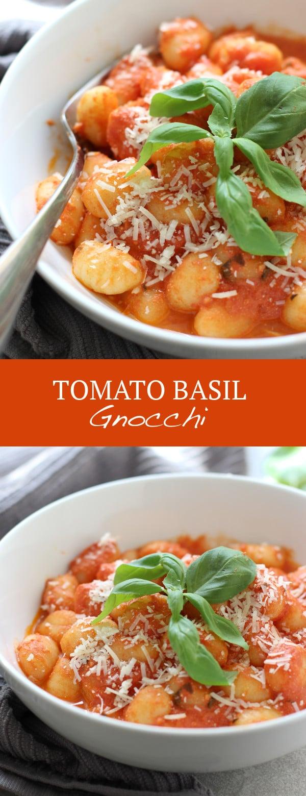 Tomato Basil Gnocchi
