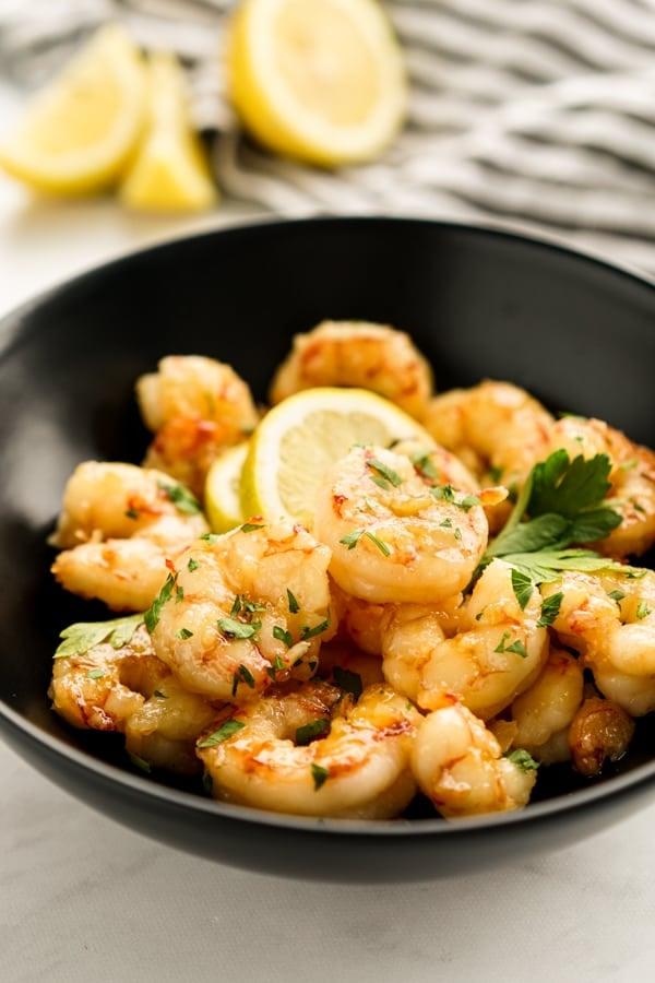 Honey Lemon Garlic Shrimp