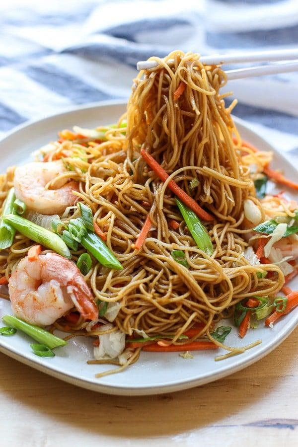 Shrimp Stir Fried Noodles