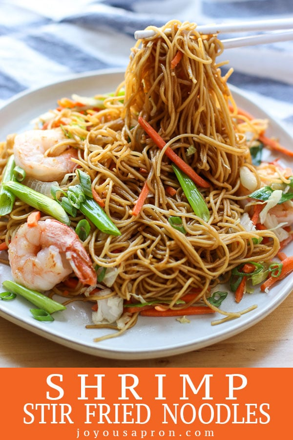 Shrimp Stir Fried Noodles