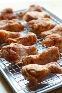 BBQ Baked Chicken Wings