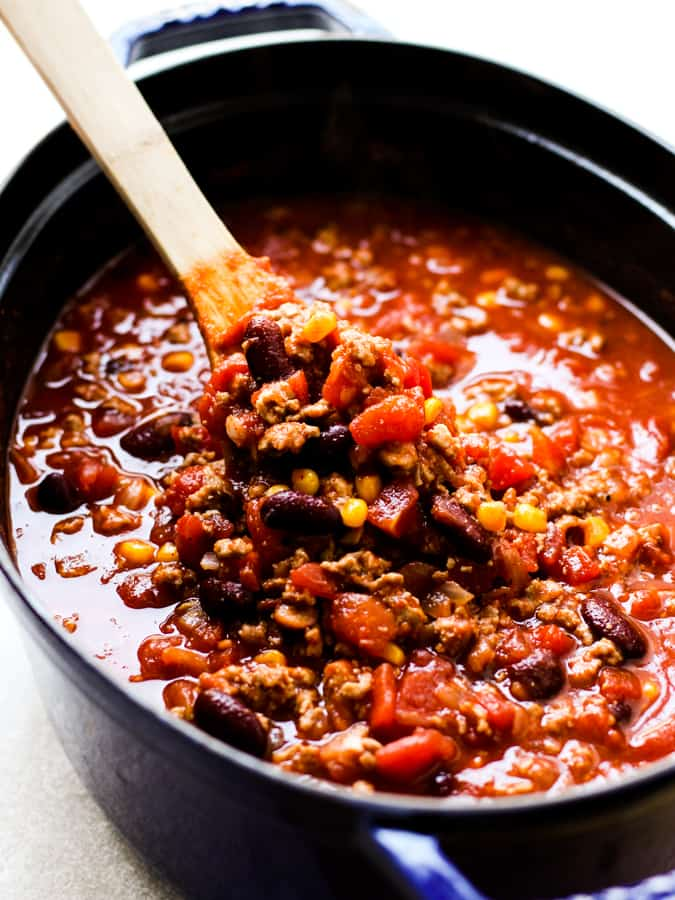 Cooking Healthy Turkey Chili