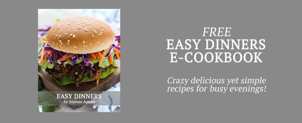 Easy Dinners E-Cookbook
