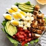 A bowl of Crispy Chicken Salad