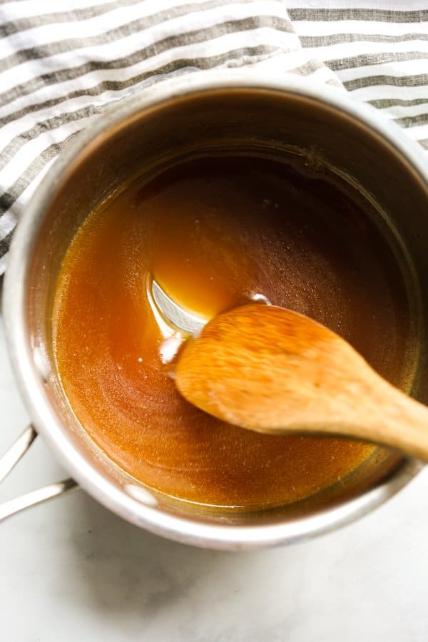 Glaze in the pot