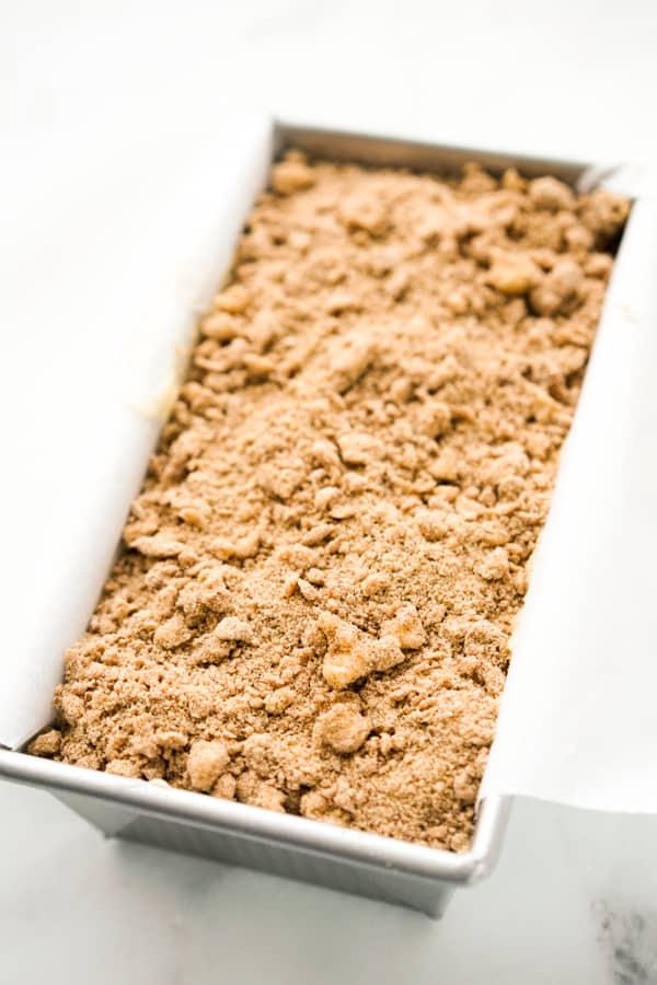 Unbaked Apple Cinnamon Bread